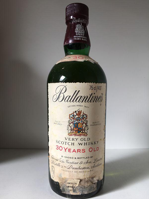BALLANTINES 30 ans années 1980