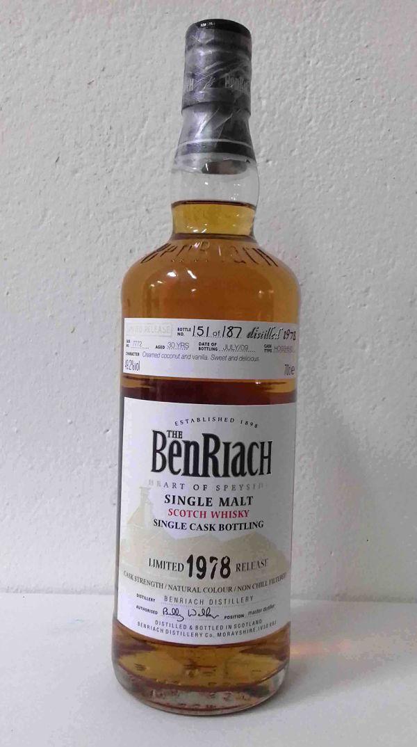 BENRIACH 1978 30 ans