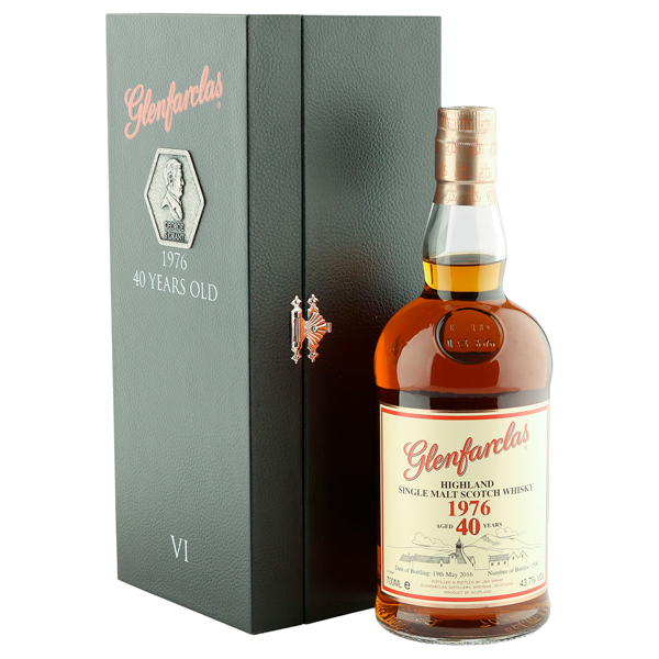 GLENFARCLAS 1976 40 ans Family Collector Series