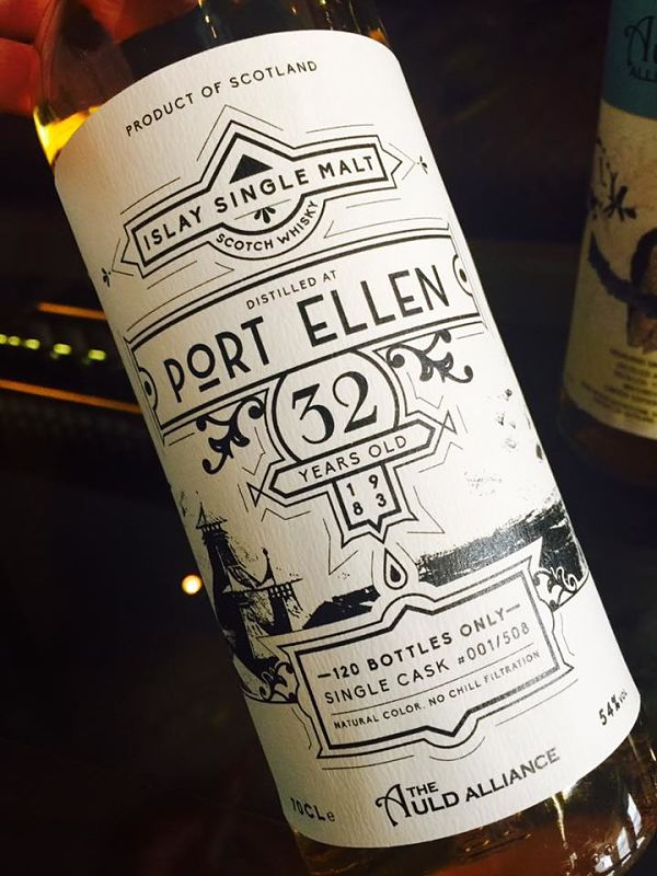 PORT ELLEN 1983 32 ans The Auld Alliance