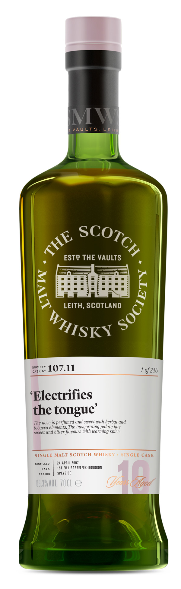 SMWS 107.11 2007 10 ans