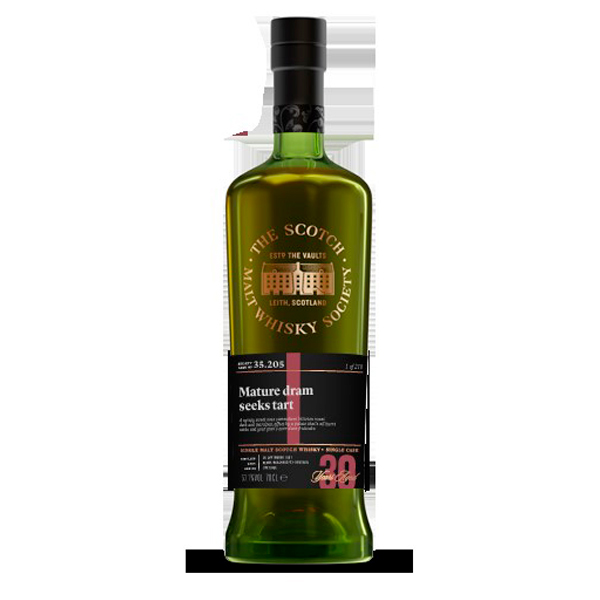 SMWS 35.205 1987 30 ans
