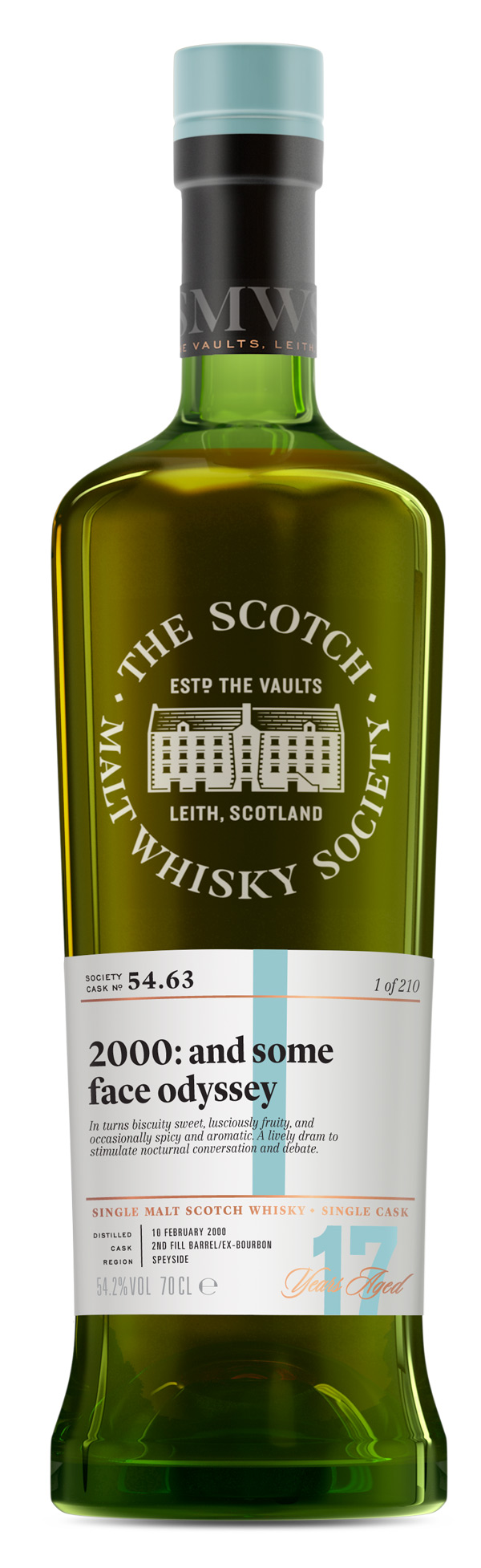 SMWS 54.63 2000 17 ans