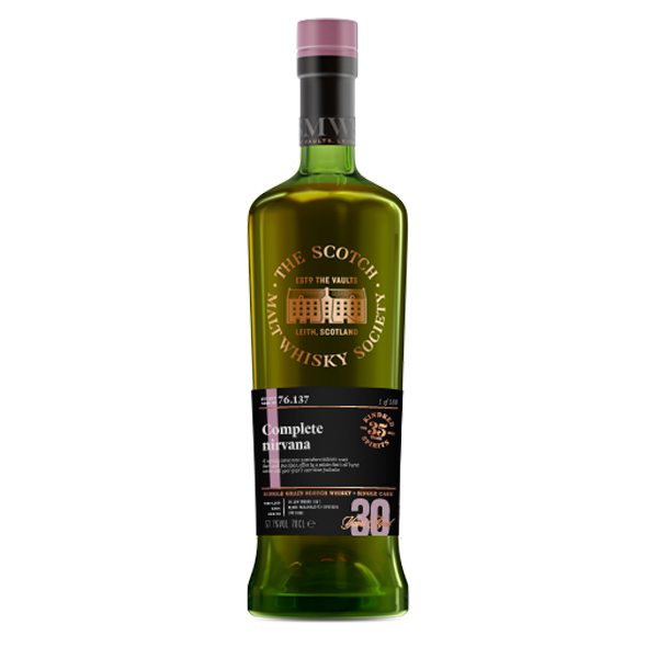 SMWS 76.137 1987 30 ans