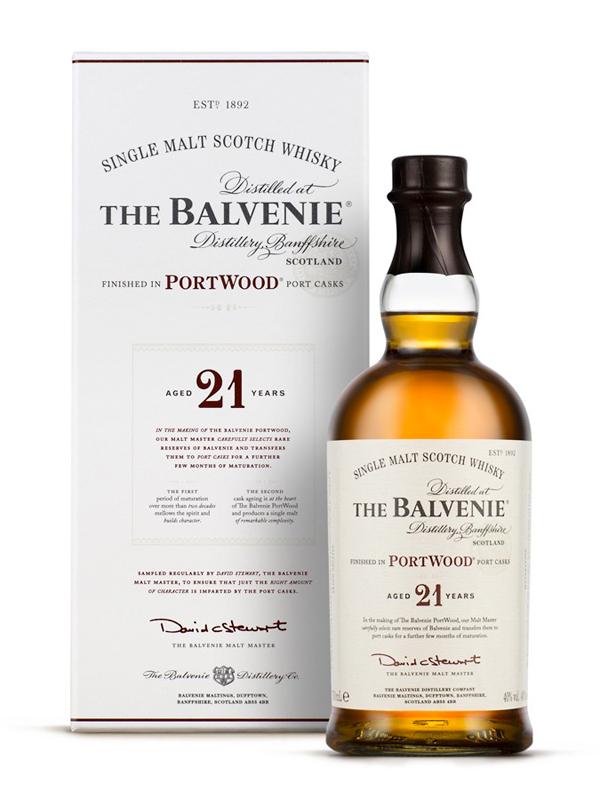 THE BALVENIE 21 ans Portwood