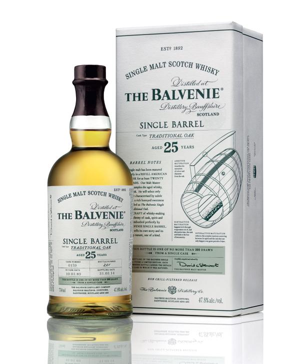 THE BALVENIE 25 ans Single Barrel